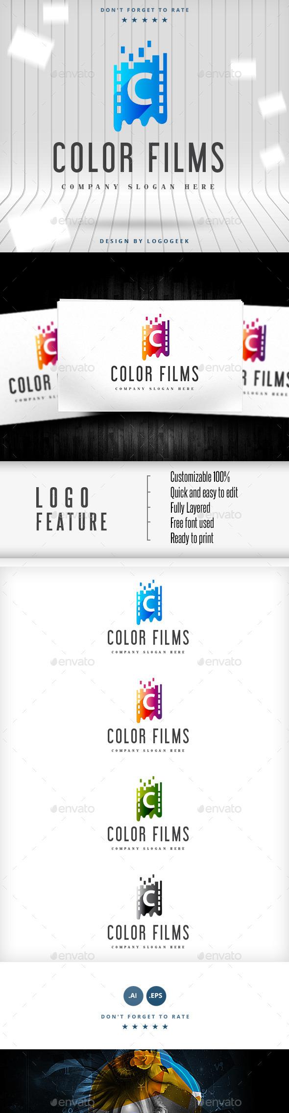 Color Films Logo