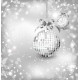 Silver of Empty Snowglobes. Vector Christmas - GraphicRiver Item for Sale
