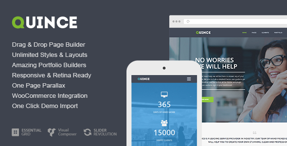 Quince - Modern Business Theme 4