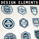 Badges Template - GraphicRiver Item for Sale