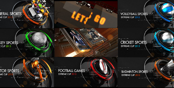 After Effects Sports Broadcast Packages from VideoHive