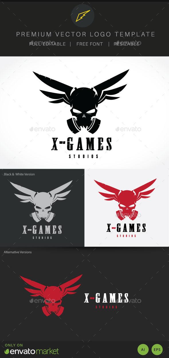 X Game Studio Logo