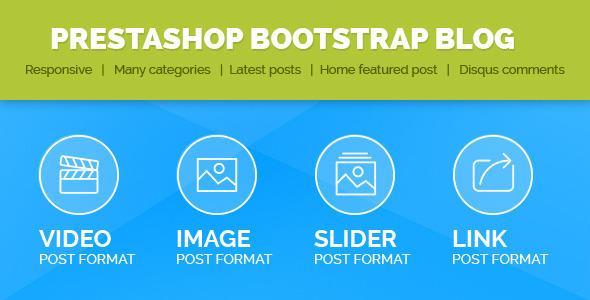Prestashop Bootstrap  Blog