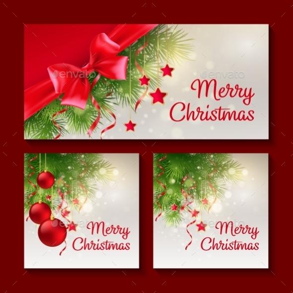 Set of Christmas Templates