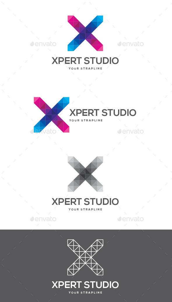 Xpert Studio Letter X Logo