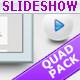 Slideshow Templates Quad Pack - GraphicRiver Item for Sale