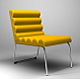 Chicago Easy Chair - 3DOcean Item for Sale
