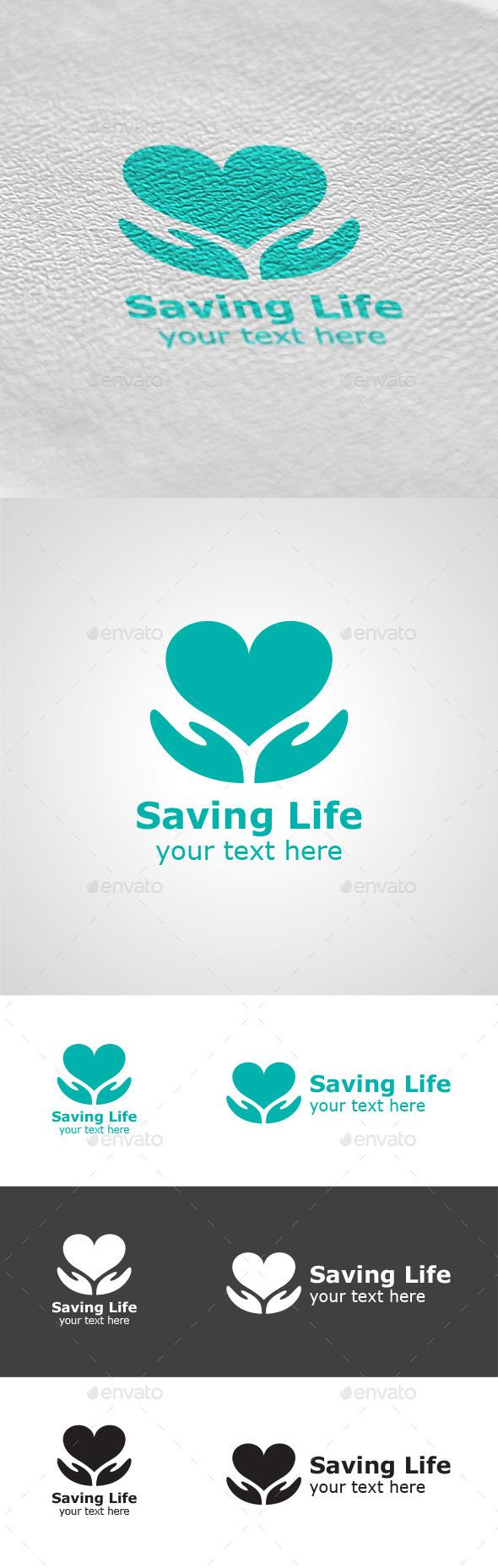 Saving Life Logo