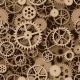 Gears Seamless Background - GraphicRiver Item for Sale