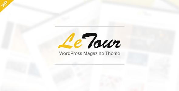 LeTour - WordPress Magazine and Blog Theme