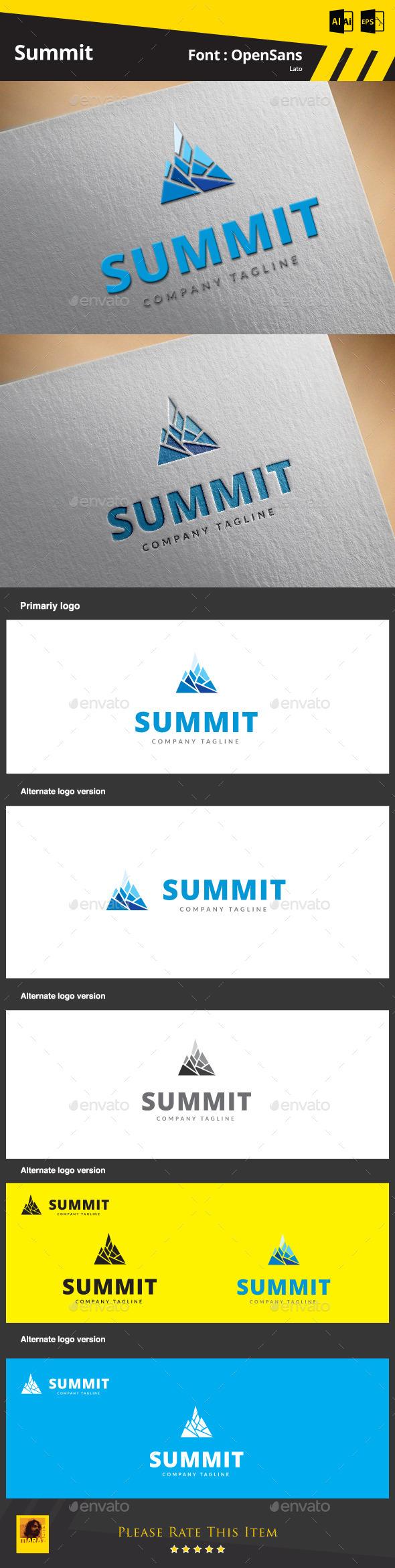 Summit Logo Template