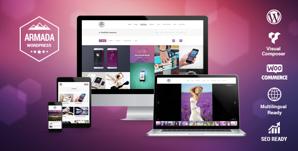 Armada — Multifunction Photography WordPress Theme