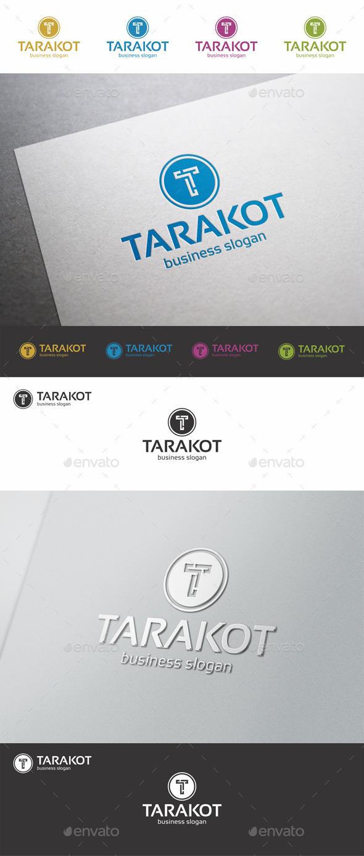T Letter Logo Template