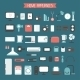 Set of Electronic Devices and Home Appliances  - GraphicRiver Item for Sale