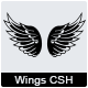 44 Wings Custom Shape - GraphicRiver Item for Sale