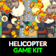 Pixel Helicopter Shooter - GraphicRiver Item for Sale