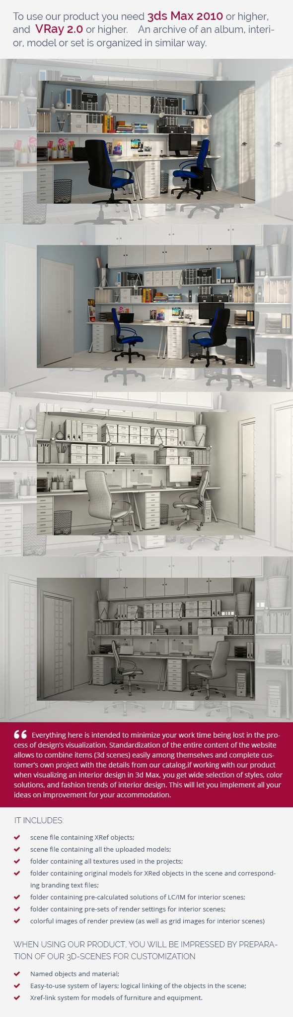 Furniture 3D Models from 3DOcean (Page 9)
