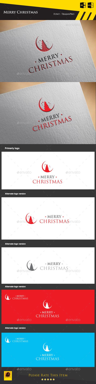 Merry Christmas Logo Template