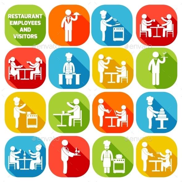 Restaurant Employees White