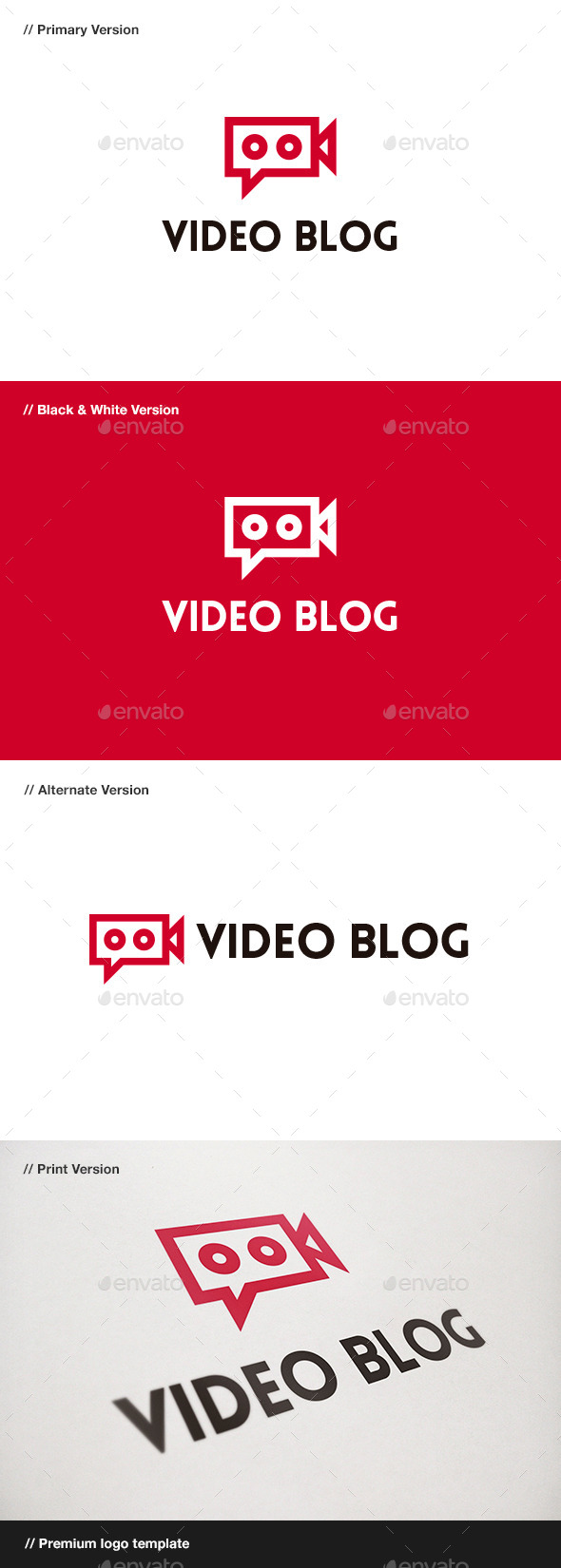 Video Blog Logo