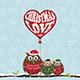 Christmas Owls - GraphicRiver Item for Sale
