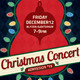 Christmas Concert / Music Event Flyer or Poster - GraphicRiver Item for Sale
