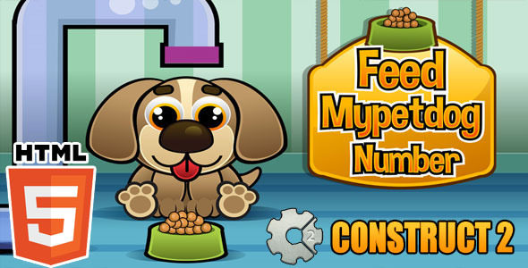 Feed Mypetdog Number - Educational HTML5 Game (CAPX) Download