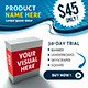 Marketing Ad Banners In 6 Sizes - GraphicRiver Item for Sale
