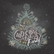 Christmas Eve Party Invitation Chalkboard - GraphicRiver Item for Sale