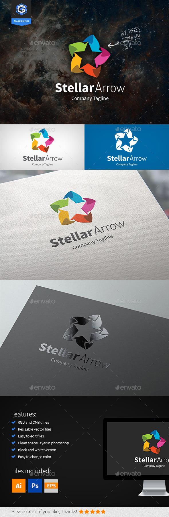 Stellar Arrow Logo