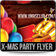 Merry X-Mas Party Flyer Template - GraphicRiver Item for Sale