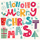 Merry Christmas Illustration - GraphicRiver Item for Sale