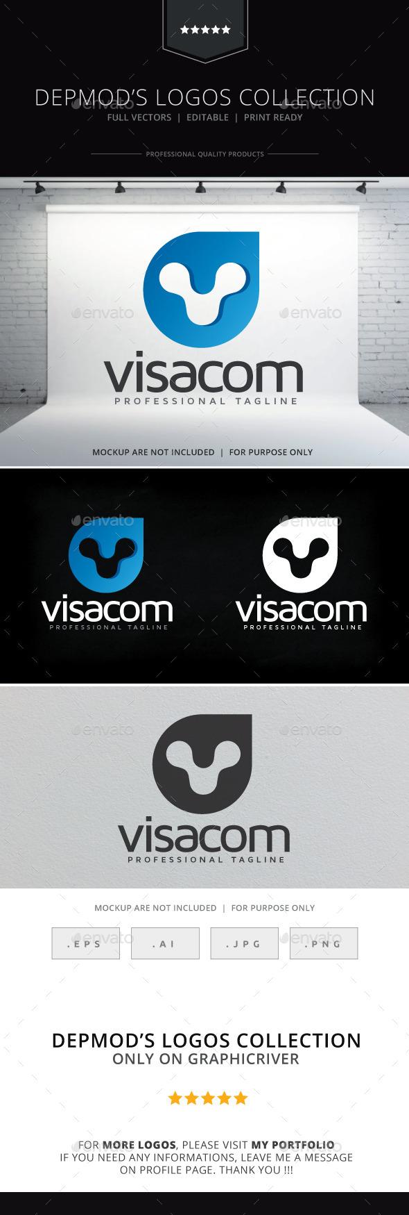 Visacom Logo