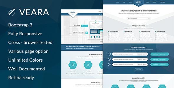 Veara Professional Multi-purpose HTML5 Template