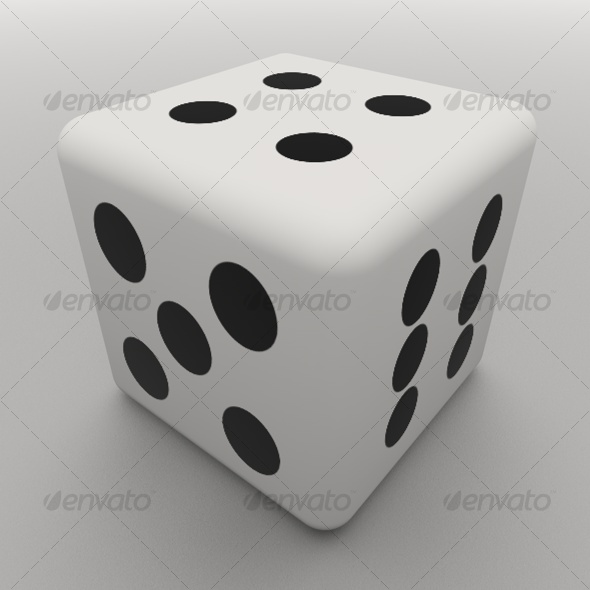 Dice CG Textures & 3D Models from 3DOcean