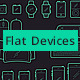 Outline Flat Devices Icon Set - GraphicRiver Item for Sale