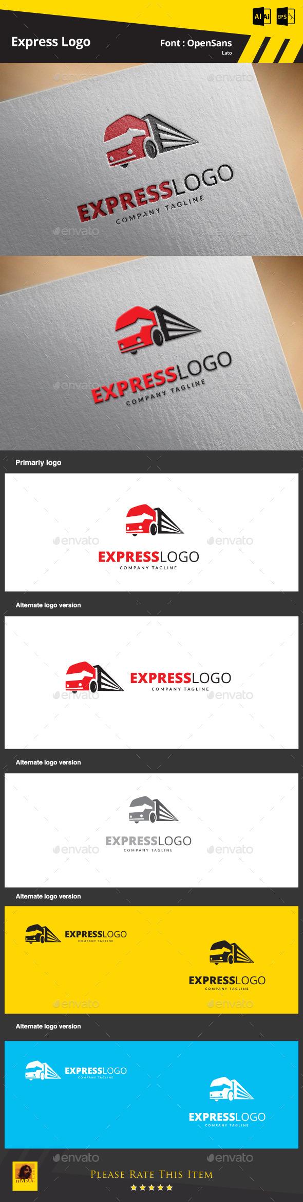 Express Logo Template