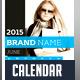 2015 Wall Calendar Template Design - GraphicRiver Item for Sale