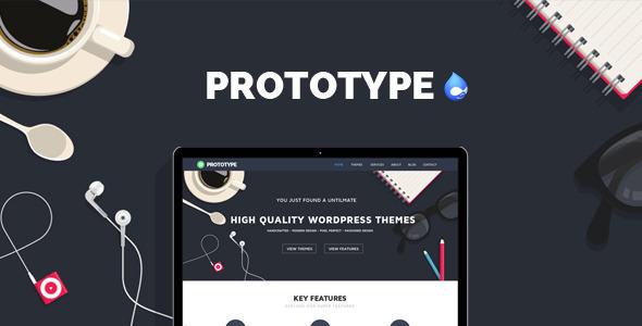 Prototype - Flat Drupal 7.6 Theme