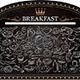 Breakfast on Blackboard - GraphicRiver Item for Sale