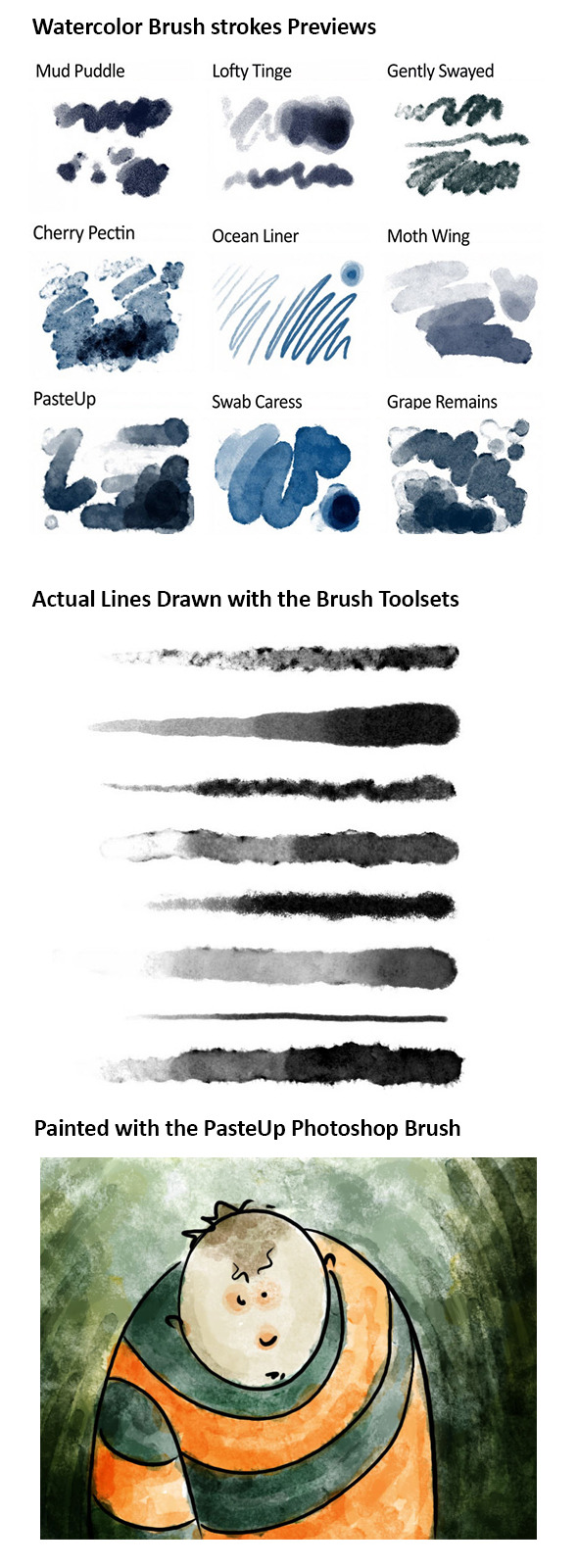 Paint Photoshop Brushes from GraphicRiver