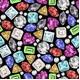 Gemstone Pattern - GraphicRiver Item for Sale