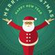 Santa Claus Greeting Design For Christmas - GraphicRiver Item for Sale