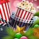 Christmas Movie Poster Design - GraphicRiver Item for Sale