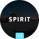Spirit - Video Email (optional) + Themebuilder - ThemeForest Item for Sale