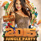 New Year Jungle Party - GraphicRiver Item for Sale