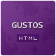 "Gustos - The complete UI for a ""recipe website"" - ThemeForest Item for Sale"