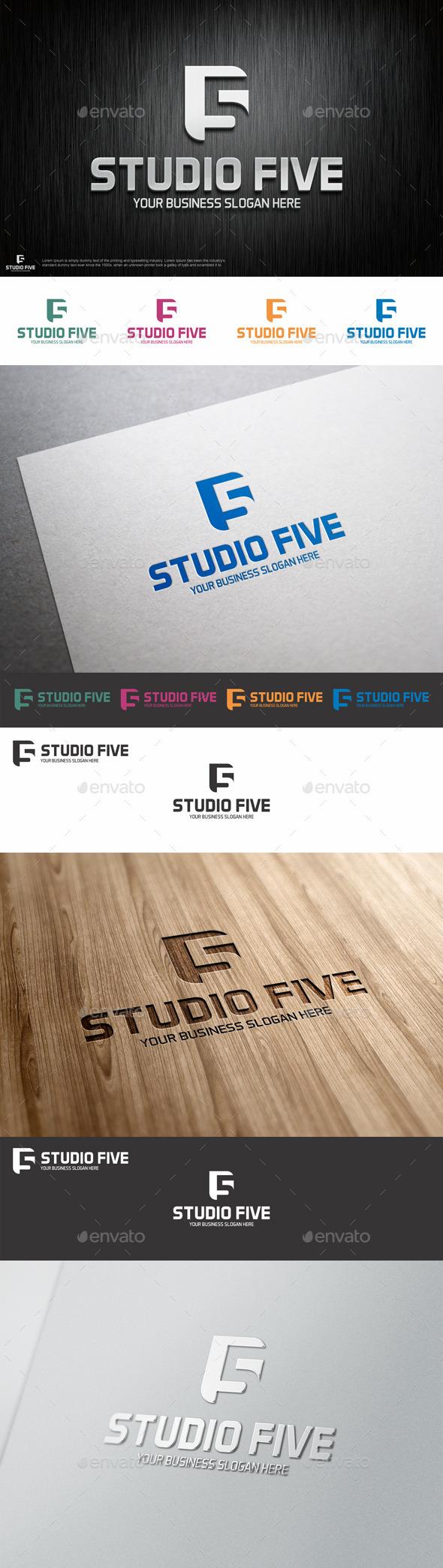 Studio Five Logo Shape