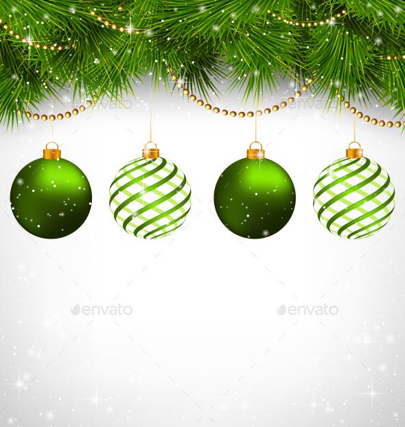 Spiral Christmas Balls
