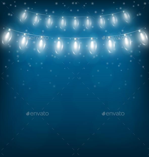 Christmas Lights Garlands